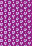 Seamless love pattern background with hearts. Vector repeating texture Royalty Free Stock Photography