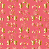 Seamless love pattern Royalty Free Stock Photography