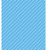Seamless love pattern hearts on blue Royalty Free Stock Photo