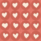 Seamless love pattern in vector Stock Photo