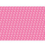 Seamless love pattern. White hearts and waves on pink Royalty Free Stock Photo