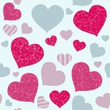 Seamless love texture Stock Photo