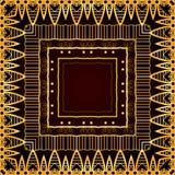 Seamless luxurious gold vintage texture Gatsby style Royalty Free Stock Photo