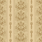 Seamless luxurious wallpaper. Seamless background with stripes for design, vector Illustration royalty free illustration