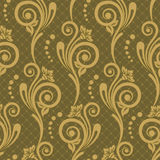Seamless luxurious wallpaper. Seamless floral pattern for design, vector Illustration stock illustration