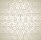 Seamless luxurious wallpaper Stock Image
