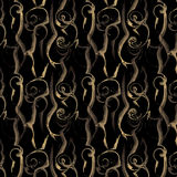 Seamless luxury abstract patterns Royalty Free Stock Image