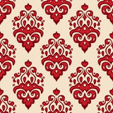 Seamless luxury Damask pattern vector Stock Images