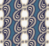 Seamless luxury paisley Stock Image