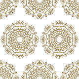 Seamless luxury pattern Royalty Free Stock Images