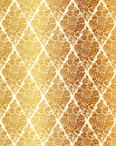 Seamless luxury vector vintage pattern Stock Image