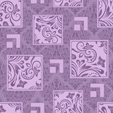 Seamless lyxig wallpaper Royaltyfri Fotografi