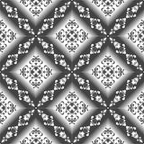 Seamless lyxig Wallpaper-Bakgrund Royaltyfria Bilder