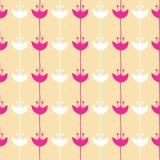 Seamless mönstra av blommabakgrund Fotografering för Bildbyråer