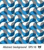 Seamless wallpaper av vit- och blåttmusikband Royaltyfri Fotografi