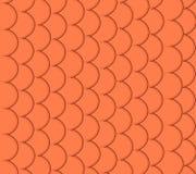 Seamless mönstra av liten färgrik guldfisk Arkivbild