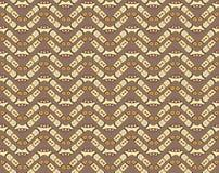 Seamless mönstra med bumeranger Royaltyfri Foto