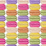 Seamless macaroon background Stock Photo