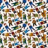 Seamless mafia pattern Royalty Free Stock Photography