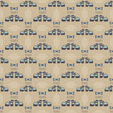 Seamless male pattern Stock Images