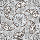 Seamless mandala pattern Royalty Free Stock Photo