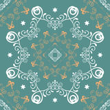 Seamless mandala pattern Royalty Free Stock Images