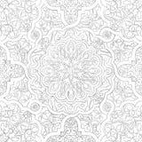Seamless mandala pattern Stock Photo