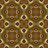 Seamless mandala pattern royalty free stock image