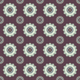 Seamless mandala pattern. Vintage elements in oriental style. Te Royalty Free Stock Images