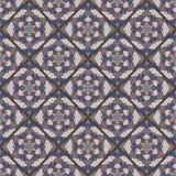 Seamless mandala pattern. Vintage elements in oriental style. Te Stock Photography