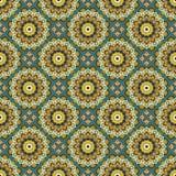 Seamless mandala pattern. Vintage elements in oriental style. Te Royalty Free Stock Images