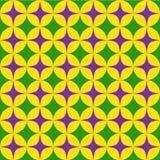 Seamless mardi grass abstract pattern. Vector illustration of Seamless mardi grass abstract pattern