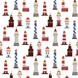 Seamless marine pattern. royalty free illustration