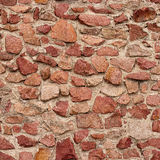Seamless masonry wall Royalty Free Stock Images