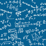 Seamless math background Stock Images