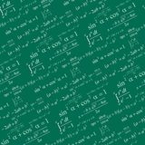 Seamless mathematical pattern Stock Images