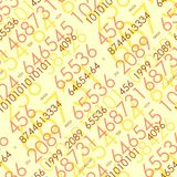 Seamless mathematical pattern Royalty Free Stock Photos
