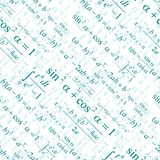 Seamless mathematical pattern Royalty Free Stock Image