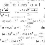 Seamless mathematical pattern Stock Photo