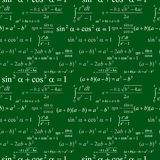 Seamless mathematical pattern Stock Image