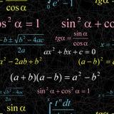 Seamless mathematical pattern Stock Image
