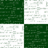 Seamless mathematics Royalty Free Stock Photo