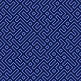 Seamless Maze Stock Image