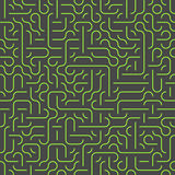 Seamless maze background Royalty Free Stock Photography