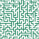 Seamless maze Royalty Free Stock Photos