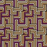 Seamless maze pattern. Stock Image