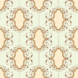 Seamless medallion pattern Royalty Free Stock Photo
