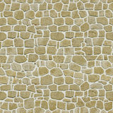 Seamless Medieval Brick Background Stock Images