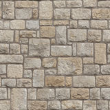 Seamless Medieval brick wall Royalty Free Stock Images