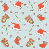 Seamless merry christmas background Royalty Free Stock Images